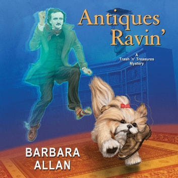 Antiques Ravin' audiobook by Barbara Allan