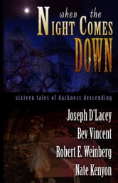 When The Night Comes Down - Sixteen Tales of Darkness Descending ebook by Joseph D'Lacey,Bev Vincent,Robert E. Weinberg and Nate Kenyon