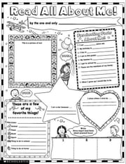 Instant Personal Poster Sets: Read All About Me: 30 Big Write-and-Read Learning Posters Ready for Kids to Personalize and Display With Pride! ebook by Garfield, Valerie