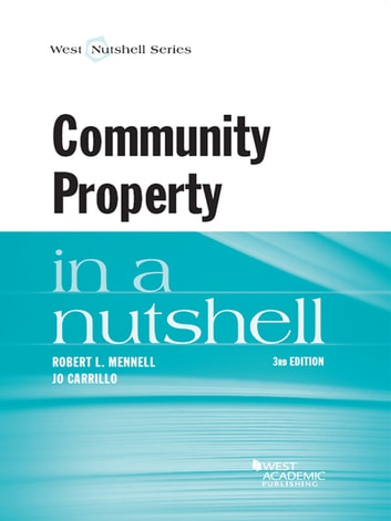 Mennell and carrillos community property in a nutshell 3d ebook by mennell and carrillos community property in a nutshell 3d ebook by robert mennelljo fandeluxe Images