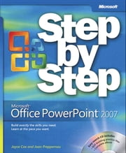 Microsoft Office PowerPoint 2007 Step by Step ebook by Joyce Cox,Joan Lambert