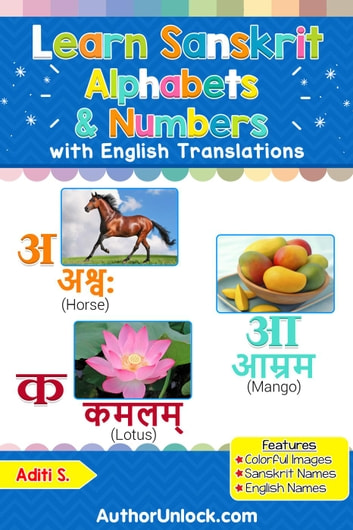 Learn Sanskrit Alphabets Numbers Ebook By Aditi S 9781977829009