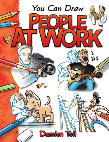 You Can Draw People at Work ebook by Damien Toll