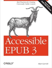 Accessible EPUB 3 ebook by Matt Garrish
