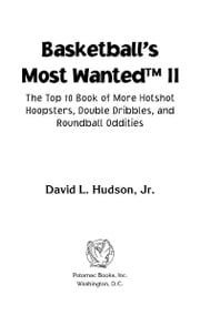 Basketball's Most Wanted™ II ebook by David L. Hudson Jr.