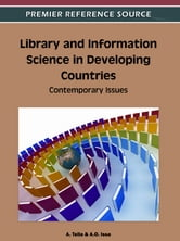Library and Information Science in Developing Countries - Contemporary Issues ebook by