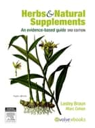 Herbs and Natural Supplements Inkling ebook by Lesley Braun,Marc Cohen