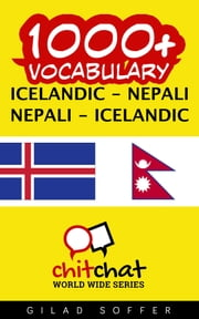 1000+ Vocabulary Icelandic - Nepali ebook by Gilad Soffer
