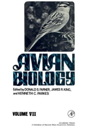 Avian Biology ebook by Farner, Donald S.