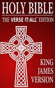KING JAMES VERSION (KJV) of the Holy Bible - Verse It:All Edition ebook by Various