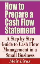 How to Prepare a Cash Flow Statement: A Step by Step Guide to Cash Flow Management in a Small Business ebook by Meir Liraz