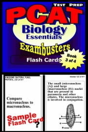 PCAT Test Prep Biology Review--Exambusters Flash Cards--Workbook 3 of 4 - PCAT Exam Study Guide ebook by PCAT Exambusters