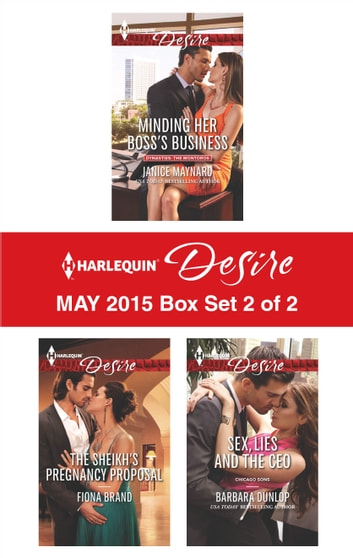 Harlequin Desire May 2015 - Box Set 2 of 2 - An Anthology ebook by Janice Maynard,Fiona Brand,Barbara Dunlop