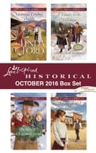 Harlequin Love Inspired Historical October 2016 Box Set - Montana Cowboy Daddy\The Sheriff's Christmas Twins\A Family for the Holidays\The Rightful Heir ebook by Linda Ford, Karen Kirst, Sherri Shackelford,...