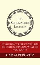If You Don't Like Capitalism or State Socialism, What Do You Want? ebook by Gar Alperovitz,Hildegarde Hannum