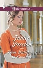 From Wallflower to Countess ebook by Janice Preston