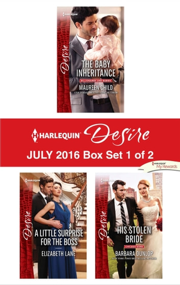Harlequin Desire July 2016 - Box Set 1 of 2 - An Anthology ekitaplar by Maureen Child,Elizabeth Lane,Barbara Dunlop