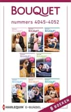 Bouquet e-bundel nummers 4045 - 4052 - 8-in-1 ebook by Michelle Smart, Lucy Monroe, Michelle Conder,...
