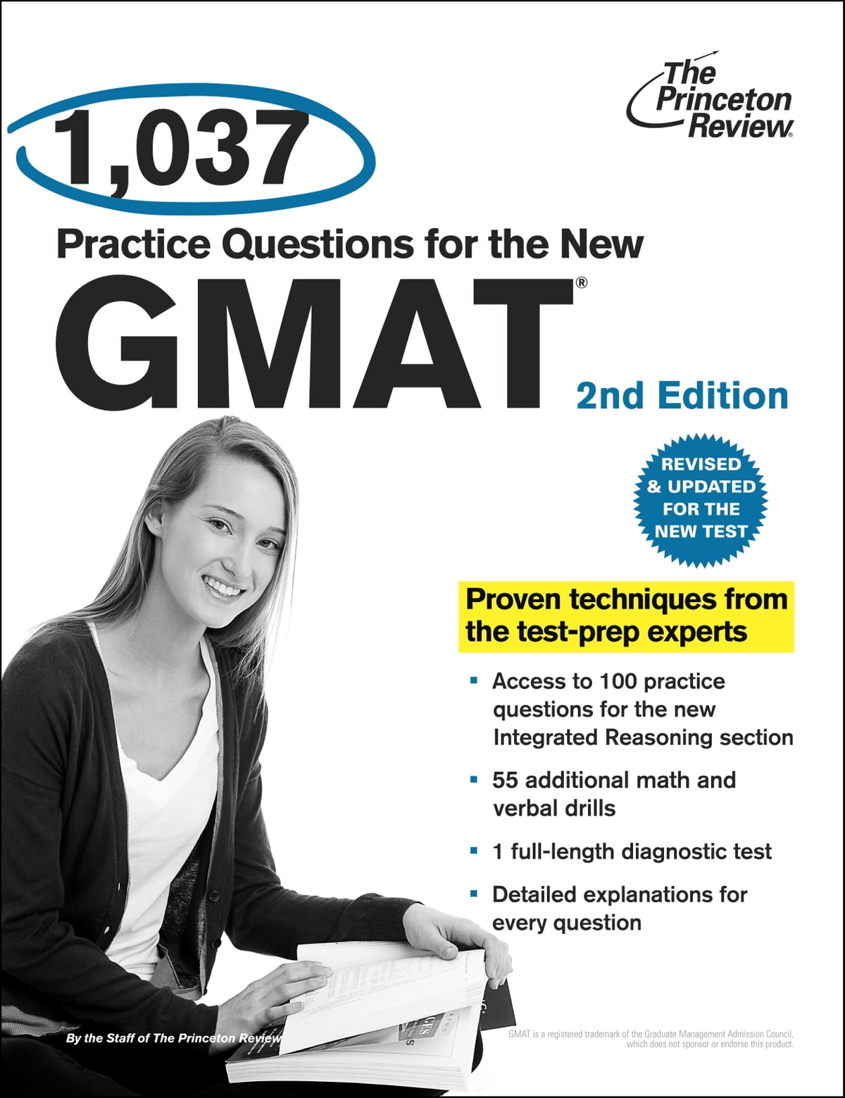 1,037 Practice Questions for the New GMAT, 2nd Edition eBook by Princeton  Review - 9780307944672 | Rakuten Kobo