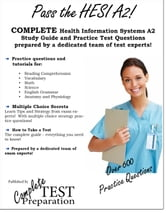 Pass the HESI A2! Health Information Systems Evolve Reach study guide and practice test questions ebook by Complete Test Preparation Inc.