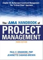 The AMA Handbook of Project Management, Chapter 29 ebook by Paul C. DINSMORE