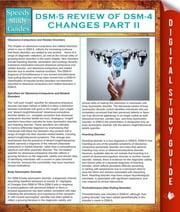 DSM-5 Review of DSM-4 Changes Part II (Speedy Study Guides) ebook by Speedy Publishing