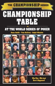 Championship Table ebook by Shane Smith