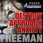 Destroy Approach Anxiety: Being Fearlessly Confident with Women audiobook by PUA Freeman