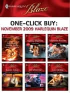 One-Click Buy: November 2009 Harlequin Blaze ebook by Nancy Warren, Michelle Rowen, Karen Foley,...