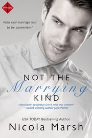 Not the Marrying Kind ebook by Nicola Marsh