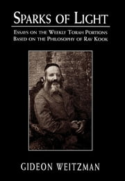 Sparks of Light - Essays on the Weekly Torah Portions Based on the Philosophy of Rav Kook ebook by Gideon Weitzman