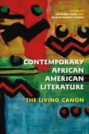 Contemporary African American Literature - The Living Canon ebook by