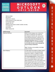 Microsoft Outlook 2013 Guide (Speedy Study Guides) ebook by Speedy Publishing