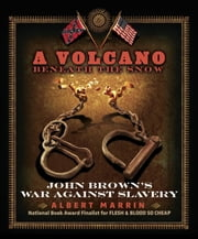 A Volcano Beneath the Snow - John Brown's War Against Slavery ebook by Albert Marrin