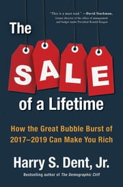 The Sale of a Lifetime - How the Great Bubble Burst of 2017-2019 Can Make You Rich ebook by Kobo.Web.Store.Products.Fields.ContributorFieldViewModel