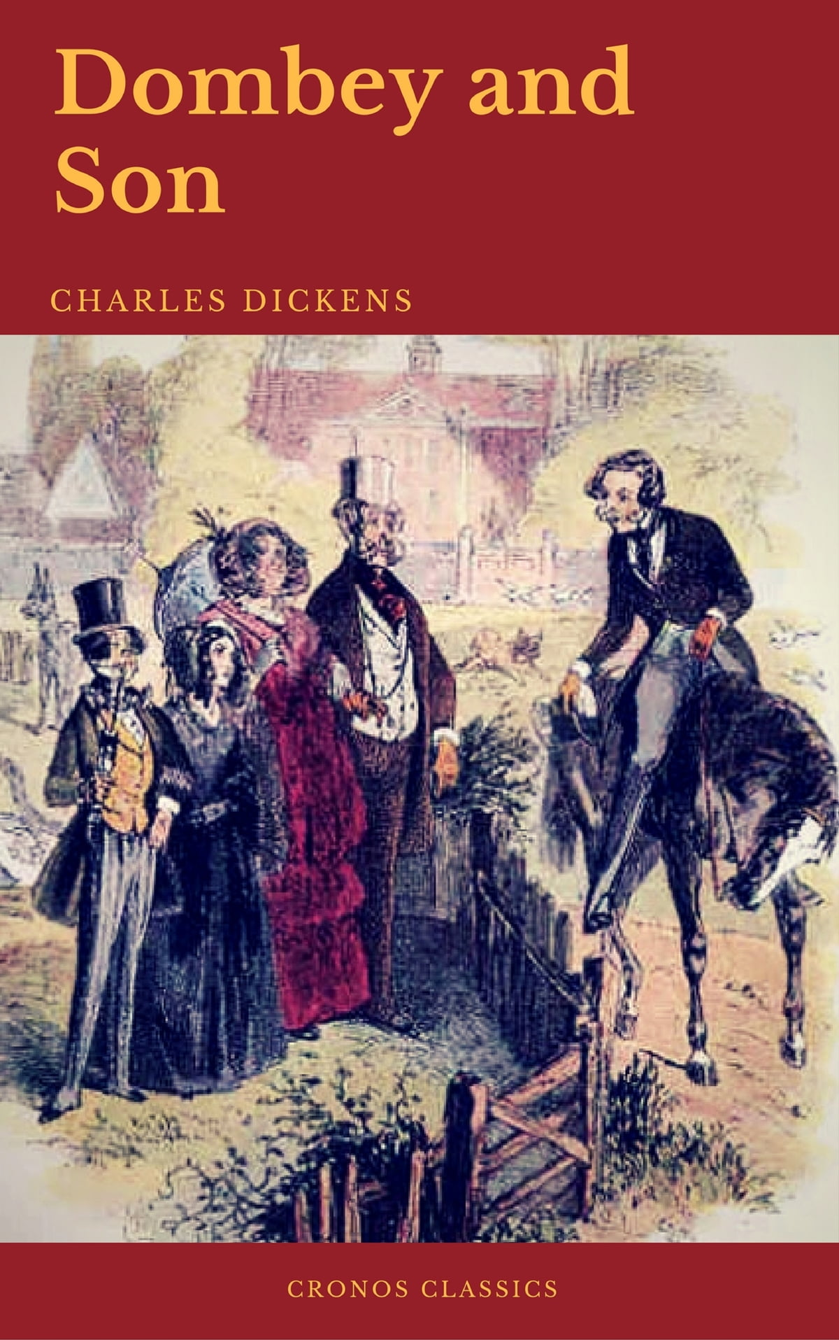 Dombey and Son (Cronos Classics) eBook by Charles Dickens - 9782378073671 |  Rakuten Kobo Greece