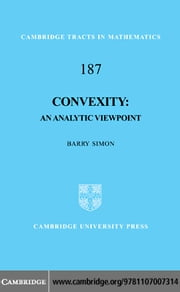 Convexity ebook by Simon, Barry