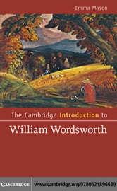 The Cambridge Introduction to William Wordsworth ebook by Mason, Emma