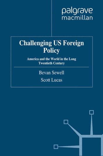 an analysis of the american foreign policy The development of foreign policy during the first 50 years of the nation, diplomats were guided by the idea that the united states should observe political isolation from european powers during peacetime and maintain strict neutrality during periods of war.