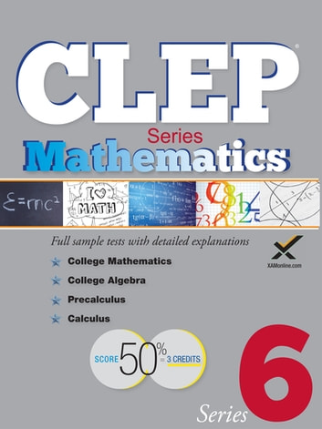 CLEP Mathematics Series 2017 ebook by Sharon A Wynne