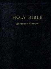 Text Only Holy Bible Recovery Version ebook by Living Stream Ministry