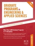 Peterson's Graduate Programs in Ocean Engineering, Paper & Textile Engineering, and Telecommunications 2011 ebook by Peterson's