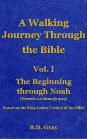 The Beginning through Noah - A Walking Journey Through The Bible, #1 ebook by B.D. Gray