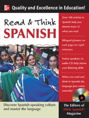 Read and Think Spanish (Book +1 Audio CD) ebook by Ed's of Think Spanish