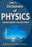Dictionary of Physics ebook by Sanjay Yadav