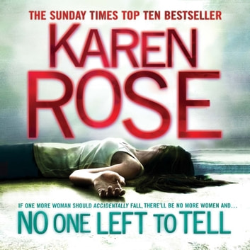 No One Left To Tell (The Baltimore Series Book 2) audiobook by Karen Rose