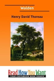 Walden ebook by Thoreau Henry David