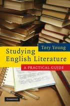 Studying English Literature ebook by Tory Young