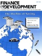 Finance & Development, June 1990 ebook by International Monetary Fund. External Relations Dept.