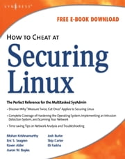How to Cheat at Securing Linux ebook by Stanger, James